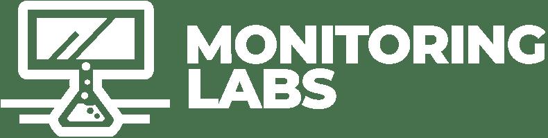 monitoring labs logo white